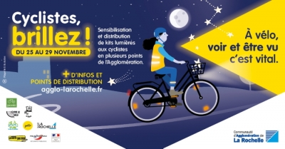 Cyclistes brillez !